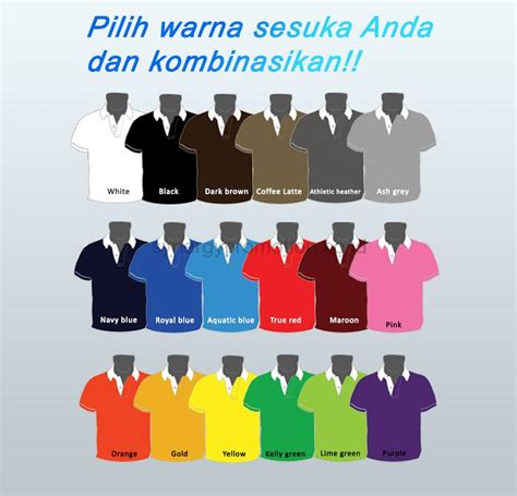 polo shirt promosi synergy promotion