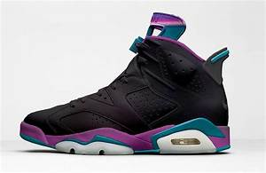 Air Jordan 6 Hornets Black Iridescent 2017 - Sneaker Bar ...