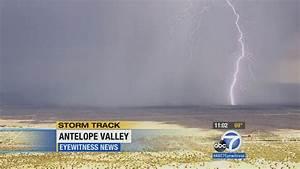 Heavy rains, hail, lightning strike Inland Empire | abc7.com