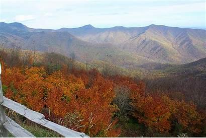 Mountains Smoky Tennessee Mountain Range Foliage Destinations