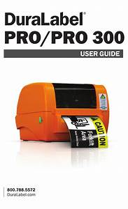 Duralabel Pro 300 User Manual Pdf Download