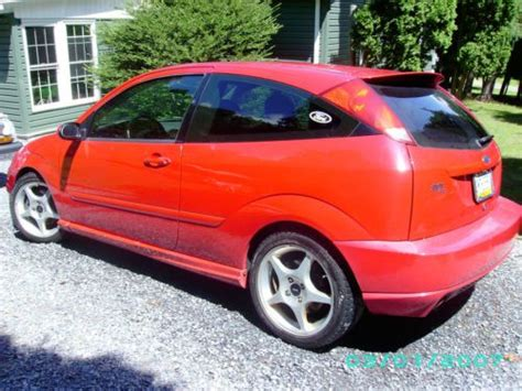 purchase   ford focus zx svt  owner  mileage