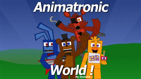 animatronic world animatronic world roblox wiki fandom