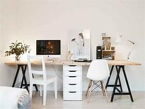 Schreibtisch Zwei Personen : schreibtisch bauen f r zwei personen home in 2018 pinterest arbeitszimmer schreibtisch ~ Markanthonyermac.com Haus und Dekorationen