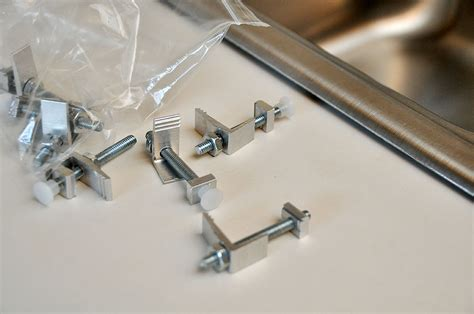 how to install sink clips choose undermount sink clips the homy design