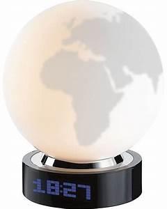 Lampe Globe Terrestre : achat vente lampe globe terrestre avec r veil int gr ~ Teatrodelosmanantiales.com Idées de Décoration