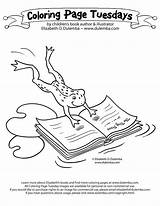 Library Coloring Pages Week National Comments Clipart Template Coloringhome sketch template