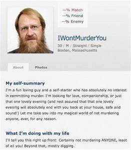 funny dating site responses