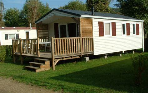 camping honfleur location mobil homes et chaumière au