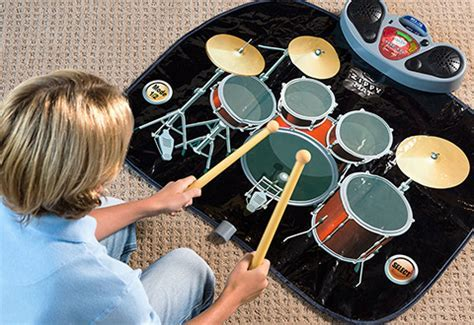 Rock 'N' Roll Electronic Drum Mat @ Sharper Image