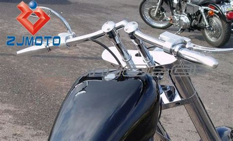 Zjmoto Motorcycle Parts Bars Black Drag 1