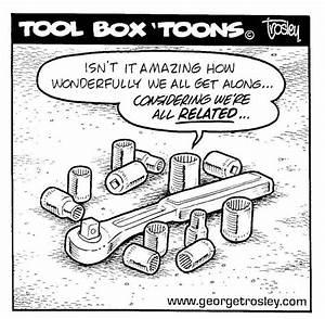 Tool Box 'Toons by George Trosley