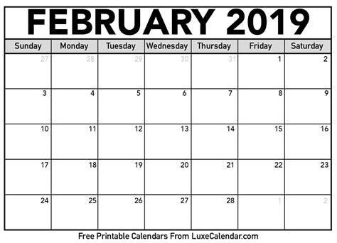february activity calendar babcock community care centre