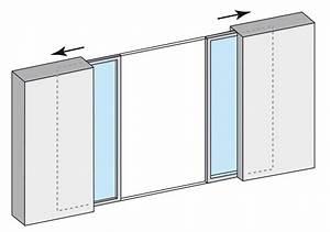 Fenetres et portes fenetres alu coulissantes empreinte for Porte fenetre coulissante galandage