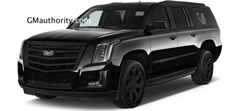 Cadillac Escalade Black Chrome Rendered  Gm Authority