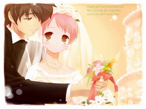 Anime Wedding Wallpaper - ulgobang anime couples wallpaper