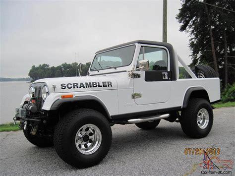 amc jeep scrambler 1982 cj8 scrambler rust free 401 amc auto trans 700 r 4