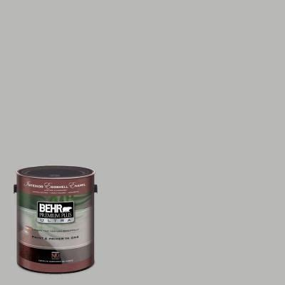 behr paint plus primer in classic silver the grey