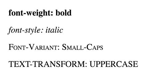 css property font weight html dog