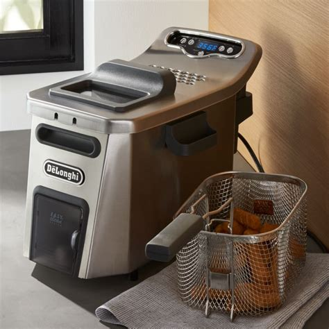 delonghi livenza deep fryer reviews crate  barrel