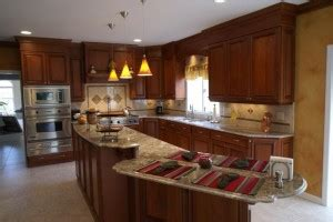 kitchen remodel with custom cabinetry in monmouth county