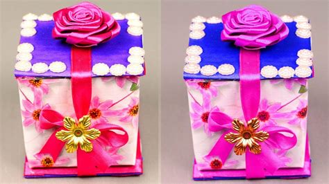 diy paper crafts surprise gift box ideas gift box