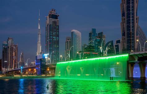 Dubai Water Canal 2016, Sheikh Zayed Bridge   LiveDesignOnline