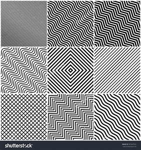 Simple Black And White Line Designs World Of Example