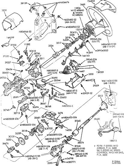 2002 F53 Steering Column Wiring Diagram by Exploded View For The 1993 Ford F250 Tilt Steering