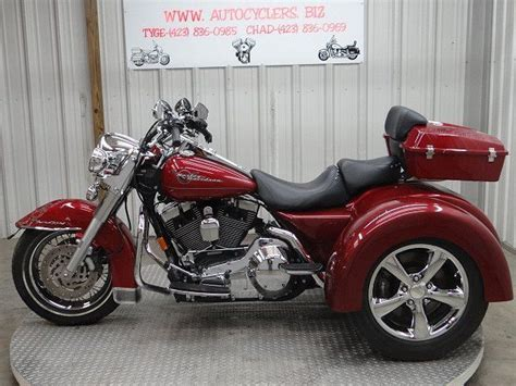 2006 Harley Davidson Roadking Road King Trike Flhri Trike Salvage Light Damage