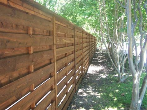 horizontal fence inspiration pictures texas  fence