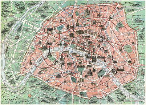 file robelin map  paris france  monuments
