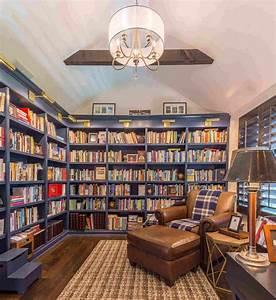 Mesmerizing, Home, Library, Design, Ideas, Taken, From, Pinterest
