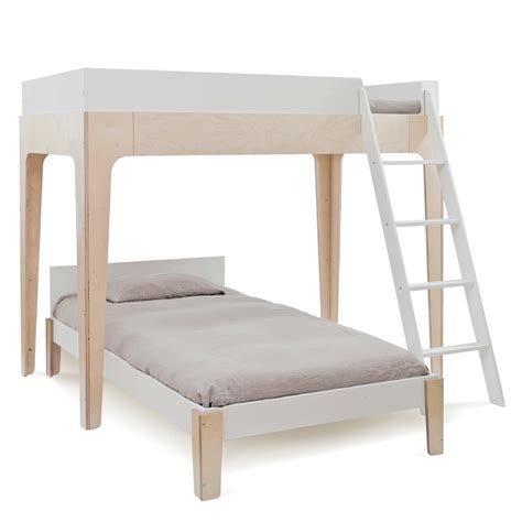 Oeuf Perch Bunk Bed by Perch Bunk Bed In White Birch By Oeuf