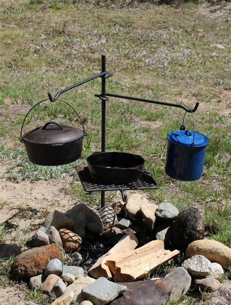 campfire cooking grill grate dutch outdoor oven bbq camping cookware fire cooker ready grates pit custom pole simple recreational hunting