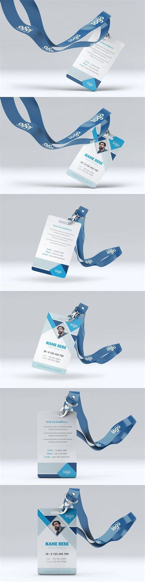 abstract id card template  images id card template
