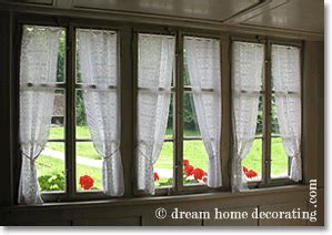 country window treatments european style rustic window