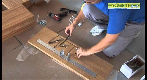 escalier galvanise en kit montage d un escalier design en kit kalea droit sogem