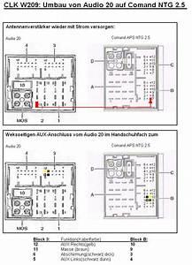 Tipps Umbau Auf Comand Aps Ntg 2 5 Beim W209 Mopf