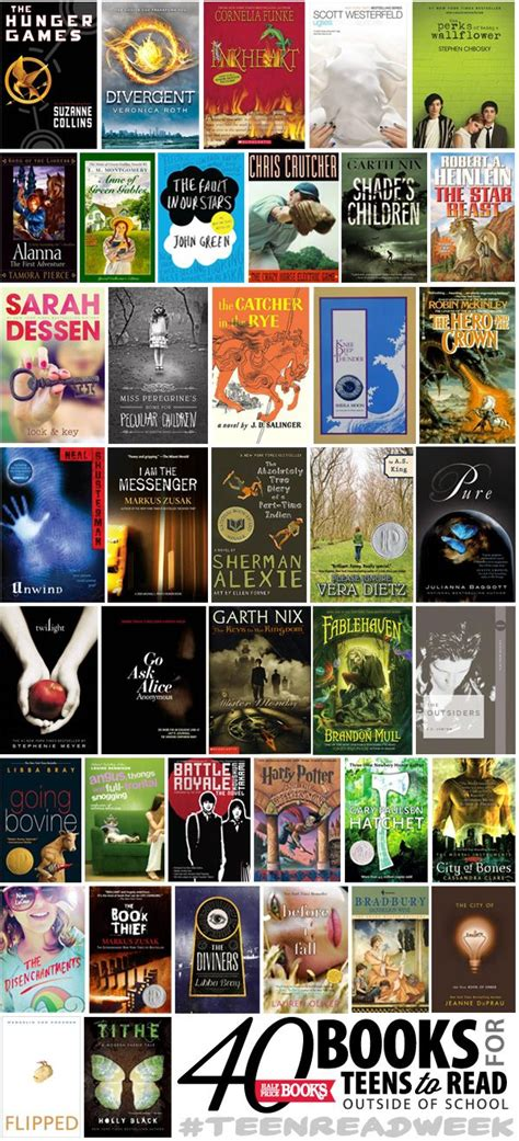 books read teens teen teenagers outside ya teenager young interesting reading adults these funny teenage adult cool fiction need half