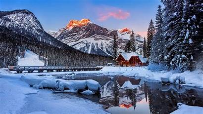 Winter Mountains Wallpapers Backgrounds