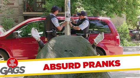 insanely absurd pranks best of just for laughs gags