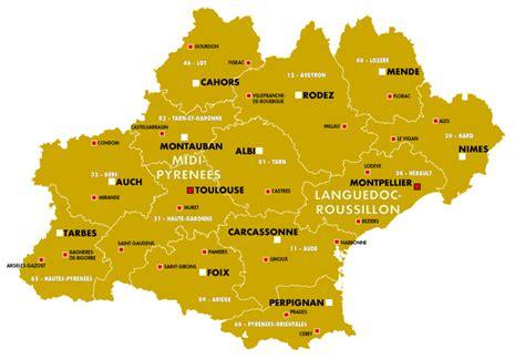 La région occitanie au sein de l' espace occitan (trait rouge). Occitanie : les Fabriques de la SCORAN - Strategic Scout