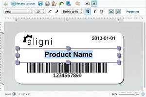 Label printing aligni for Computer labels template