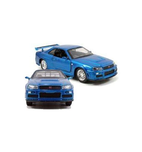 blue nissan skyline fast and furious the fast and furious 2002 nissan skyline gtr r34 blue