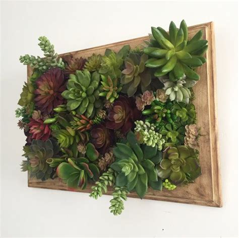 Vertical Garden Succulent Wall Panels by Succulent Arrangement Artificial Succulent Wall Garden