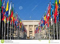 Palais Des Nations Geneva Royalty Free Stock Photo Image