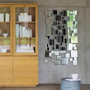 Miroir Deco Salon : miroir en m tal h 85 cm collision maisons du monde ~ Melissatoandfro.com Idées de Décoration
