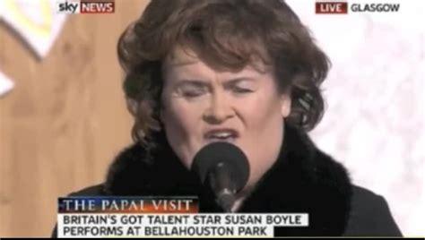 Susan Boyle In Stunningly Beautiful Performance Of Wild