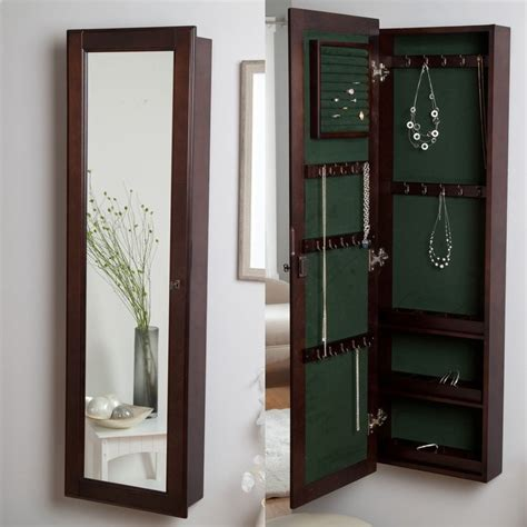 mirror jewelry storage ideas  pinterest